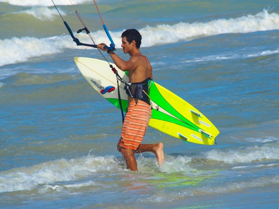 Mexican Caribbean Kitesurf Tulum Kiteboarding School